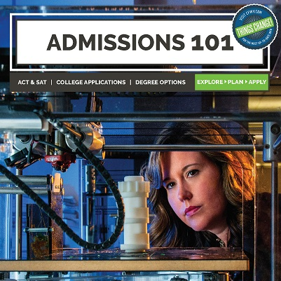 Admissions 101 Cover